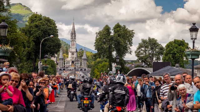 Pelerinage des motards lourdes