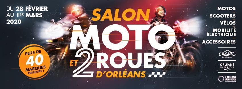 Salon de la moto a orleans