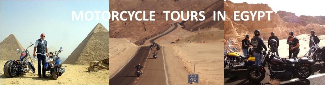 MOTORCYCLE TOURS IN EGYPT