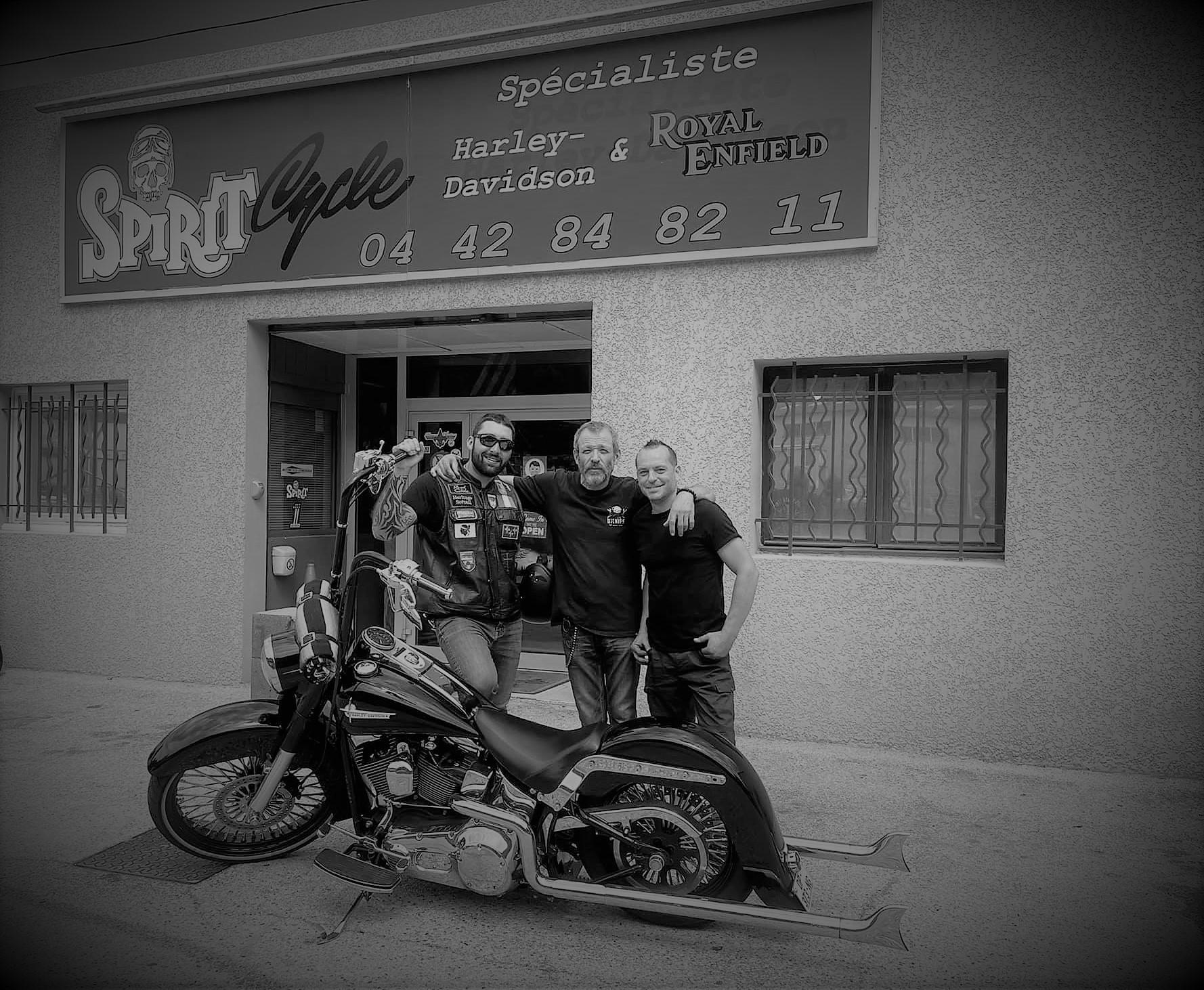 Spirit Cycle spécialiste Harley Davidson et Royal Enfield