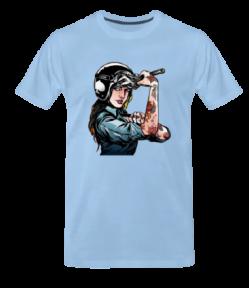 T shirt premium homme det